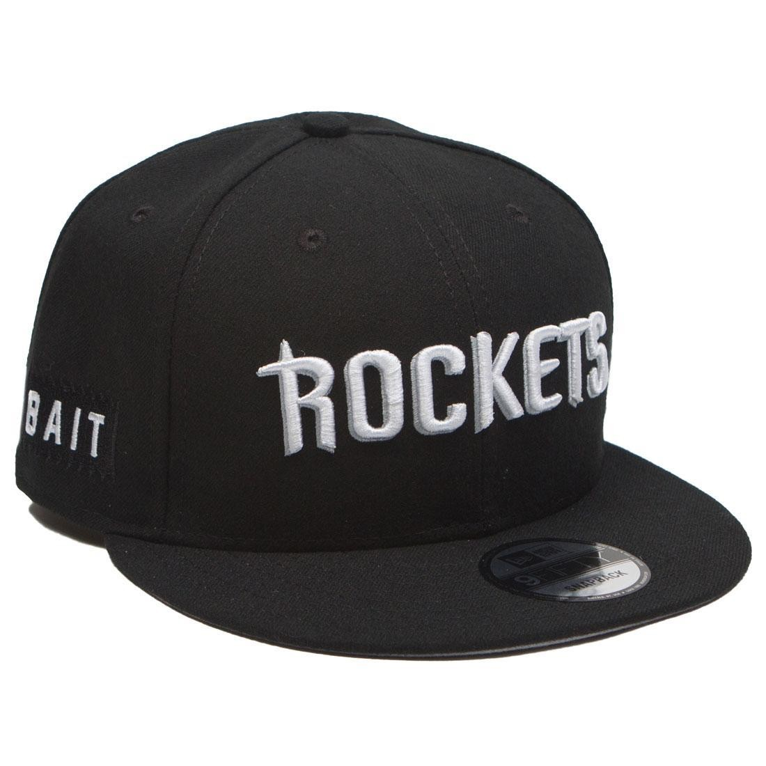 ... cheap bait x nba x new era 9fifty houston rockets alt black snapback cap  black 9166c 7fe2d5164243