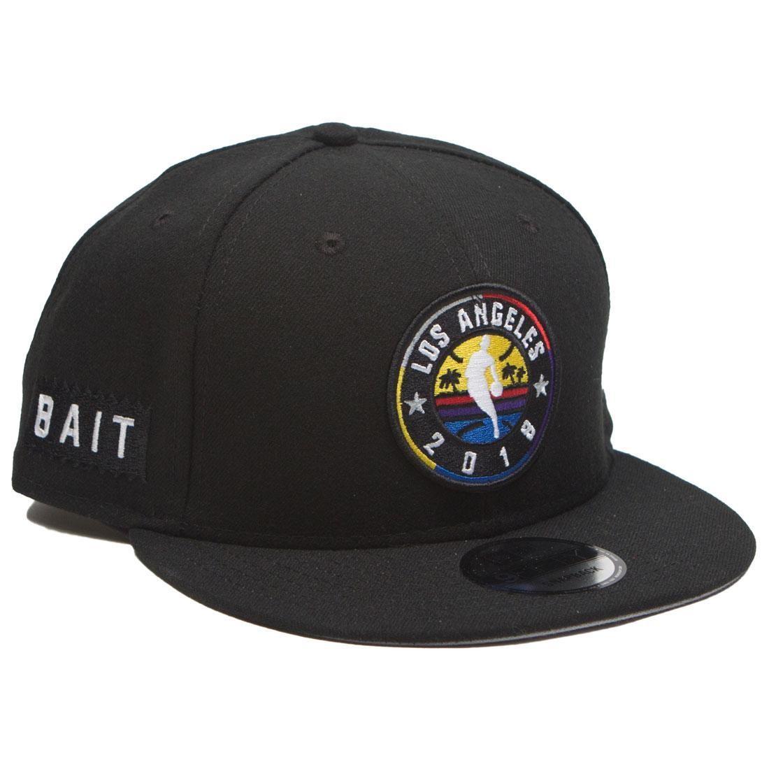 BAIT x NBA X New Era 9Fifty NBA All Star Game OTC Snapback Cap (black)