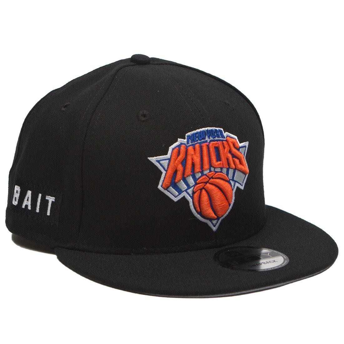 promo code 0753b 02f9e BAIT x NBA X New Era 9Fifty New York Knicks OTC Snapback Cap black