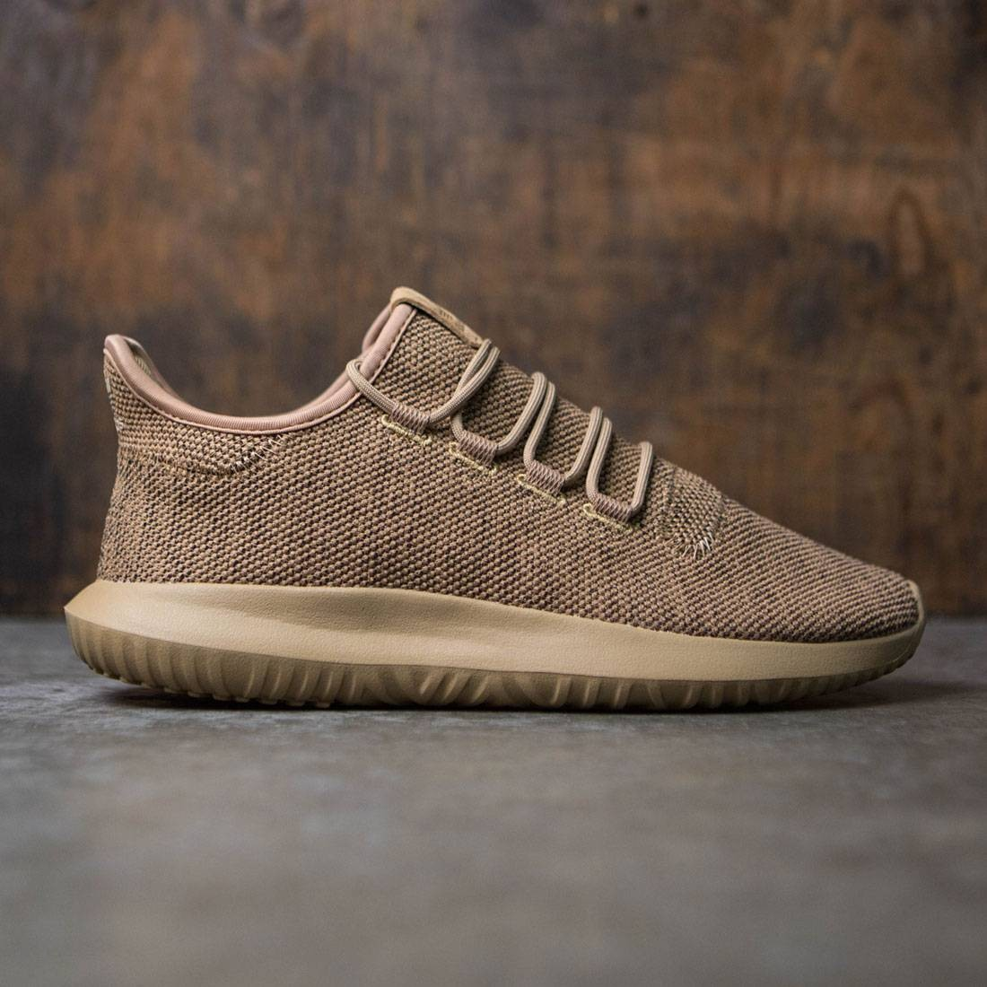 5a9e18f661db Adidas Men Tubular Shadow brown cardboard