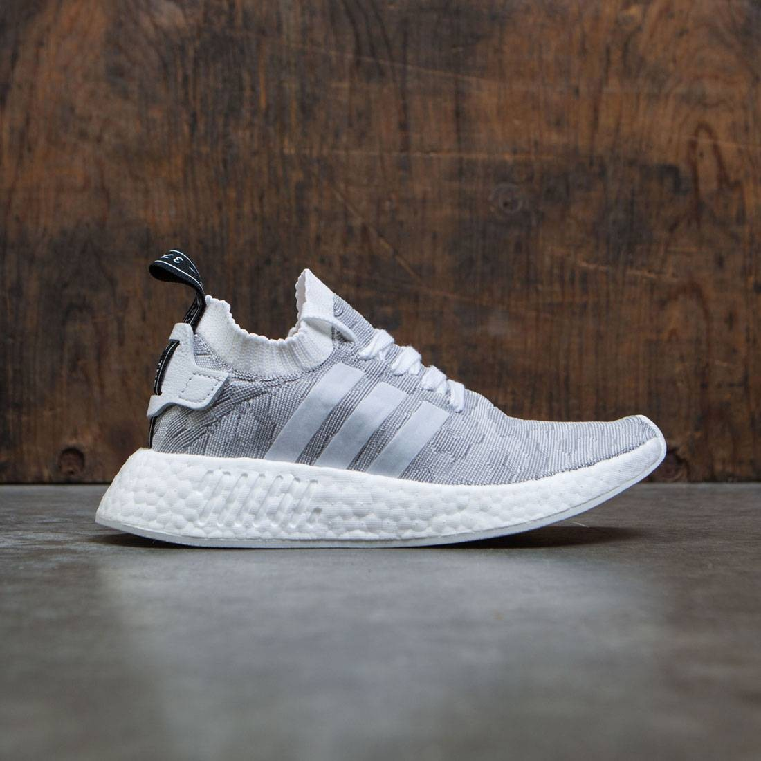 new product f94d9 65edf Adidas Women NMD R2 Primeknit W (white / footwear white / core black)