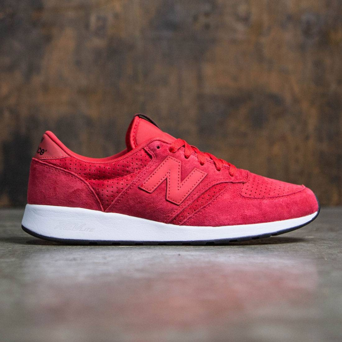 New Balance Men 420 Re-Engineered MRL420SI red black 688a0700330