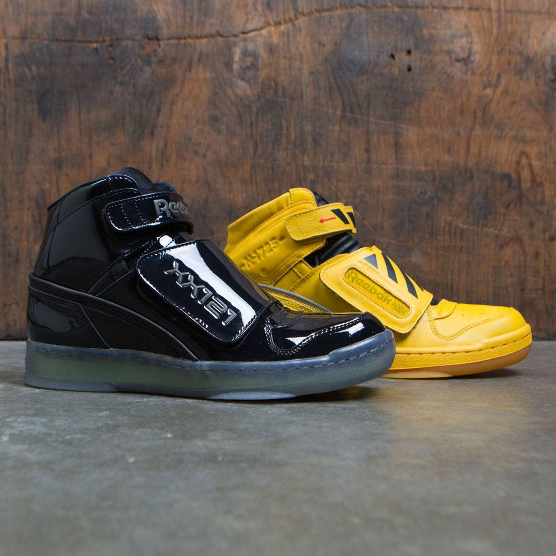 Reebok Men Alien Stomper Mid PL - Final Battle Pack yellow retro black gum c48a8a32c