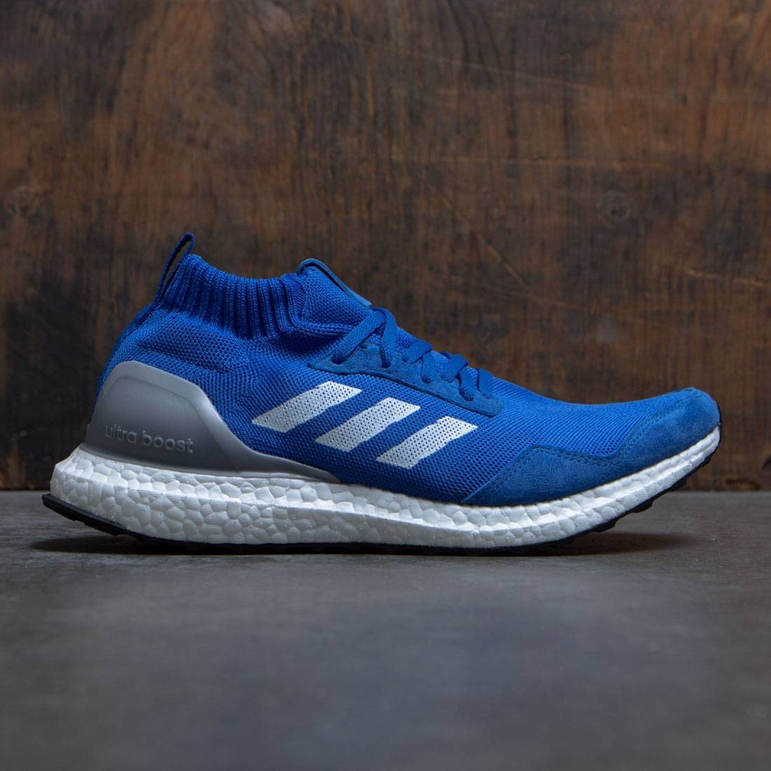 huge discount df502 37a91 Adidas Consortium Men UltraBOOST Mid - Run Thru Time blue fo