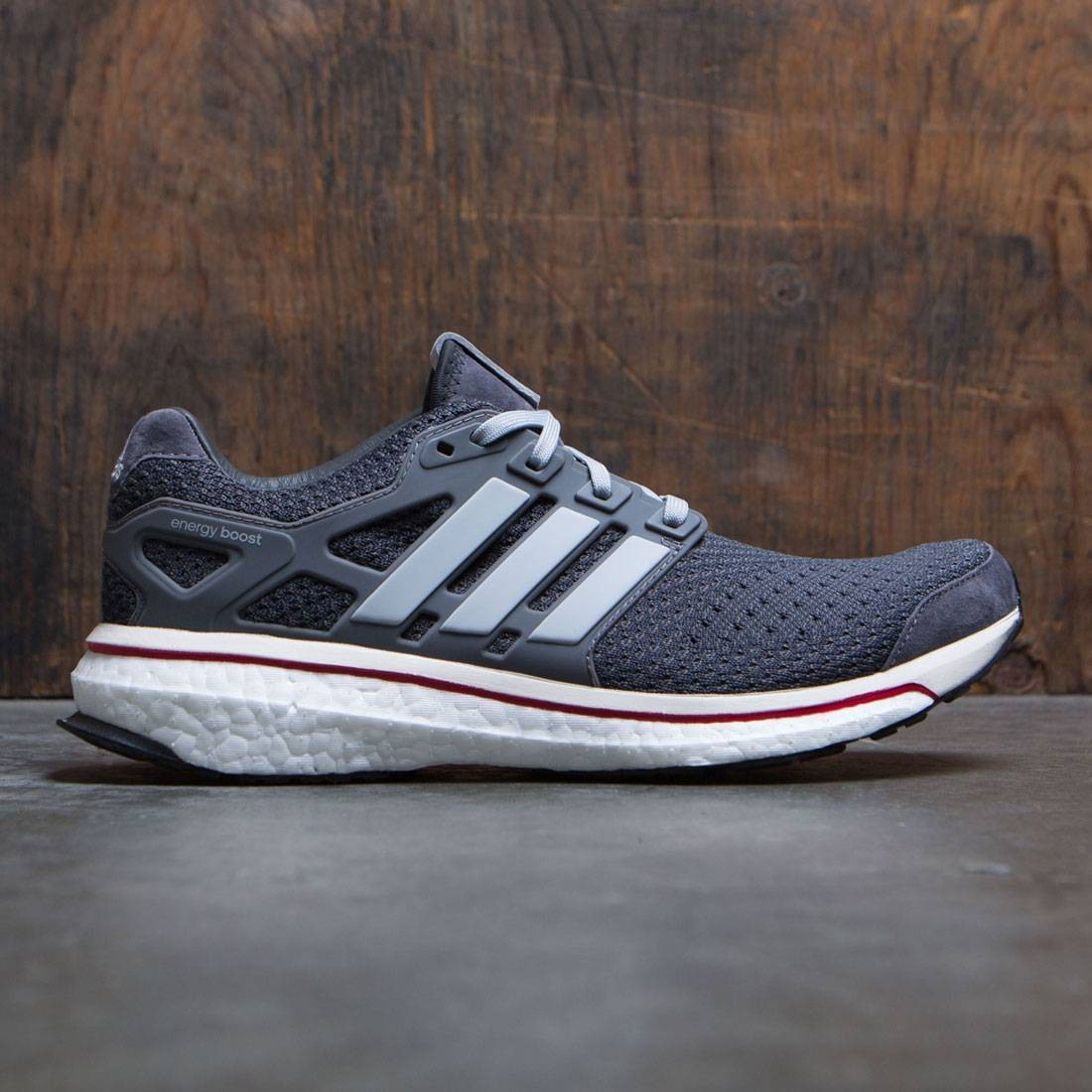 Adidas Consortium Men Energy Boost - Run Thru Time (gray / granite / clear onix)