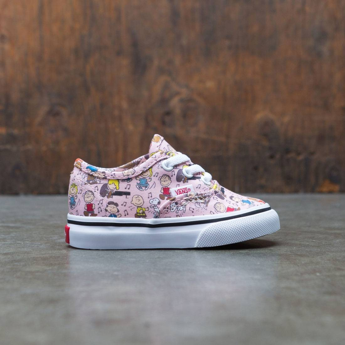 Vans x Peanuts Toddlers Authentic- Dance Party (pink)