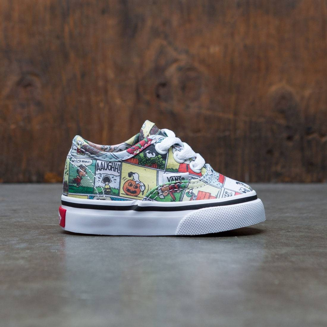 Vans x Peanuts Toddlers Authentic - Comic (black / true white)