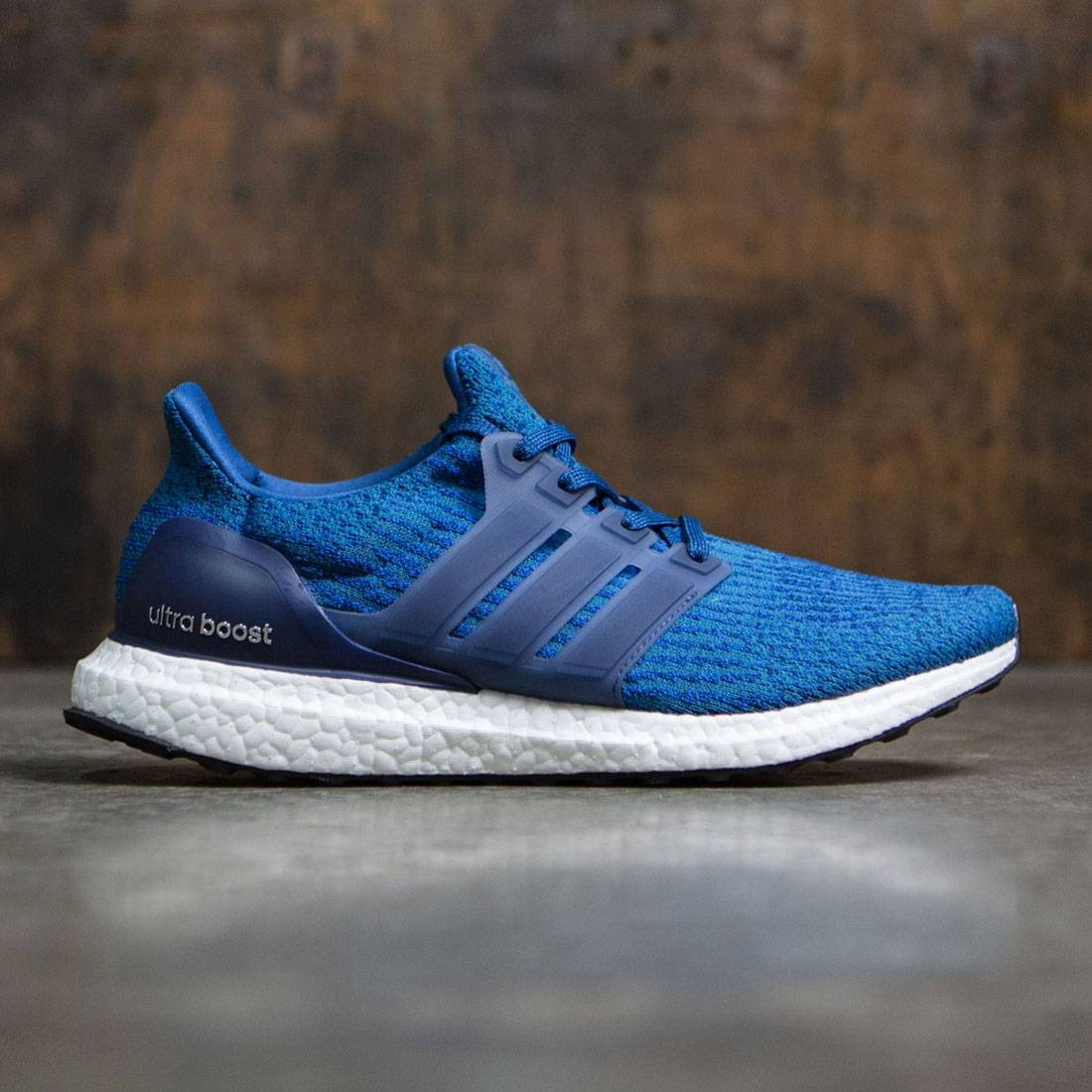 87462aab99f Adidas Men Ultra Boost blue core blue mystery blue core black