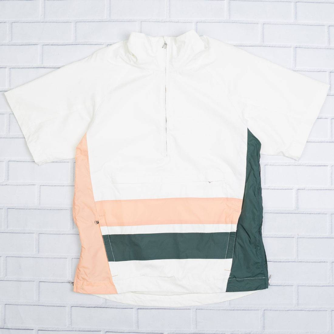 Lifted Anchors Men Elliot Short Sleeve Top (white / pink / green)