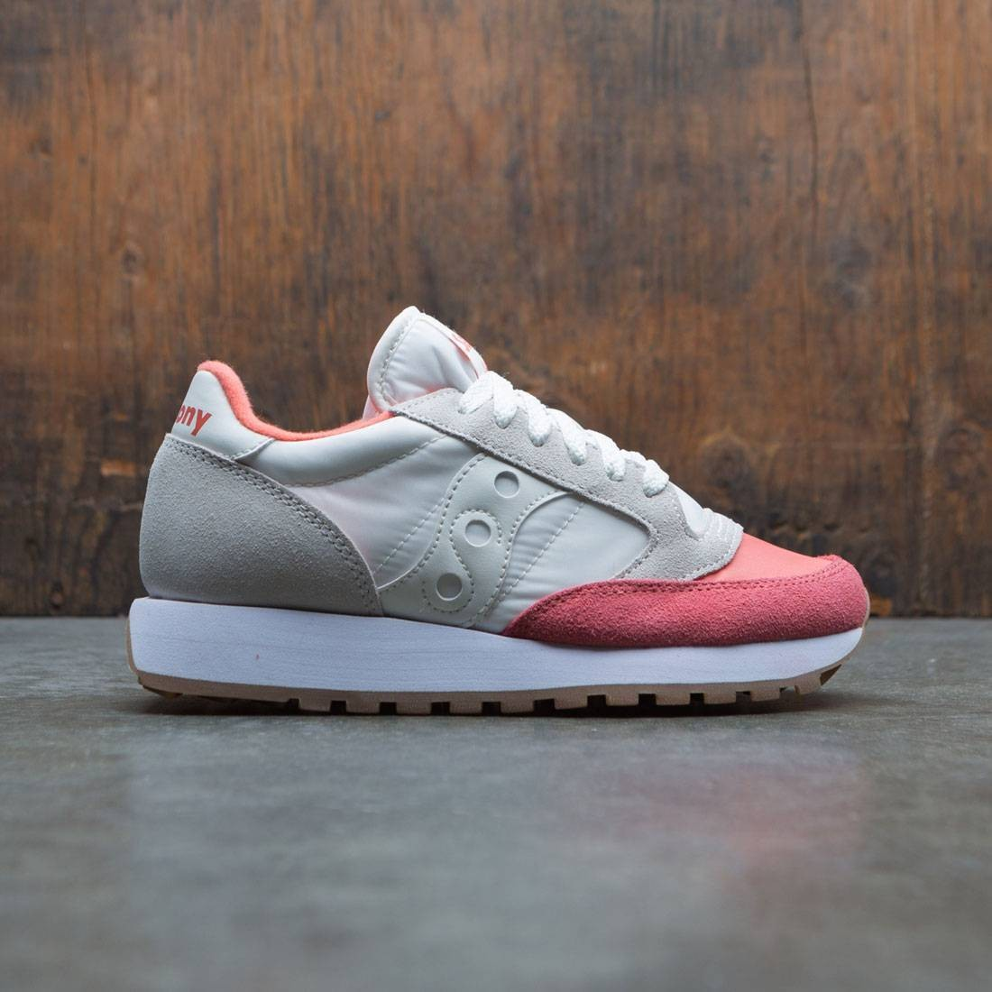 bae2577280 Saucony Women Jazz Original (pink / coral / cream)