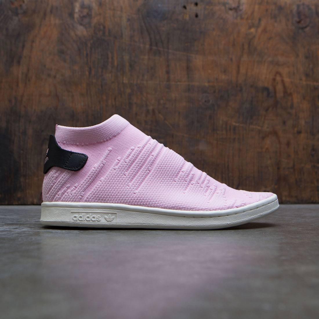 brand new 851a0 672bf Adidas Women Stan Smith Sock Primeknit W pink wonder pink core black