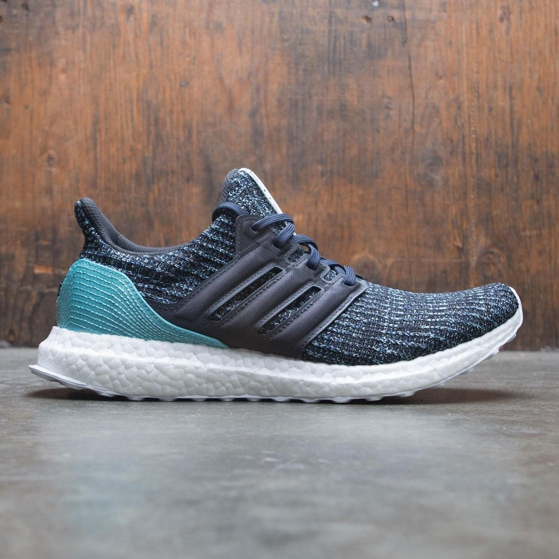 2fcbce360a9 Adidas Men UltraBOOST Parley gray carbon blue spirit