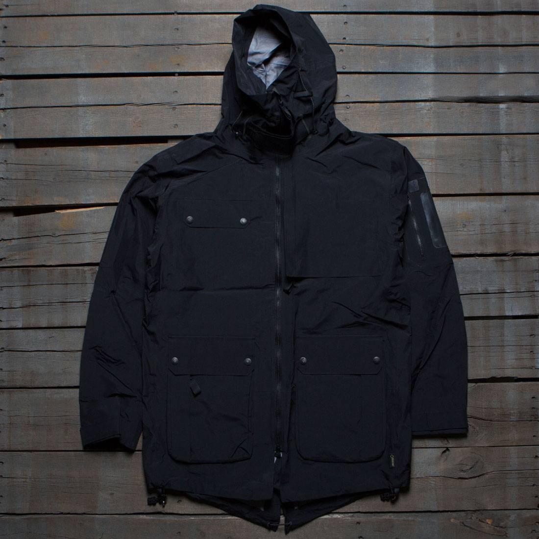 c72b9bb16696 Adidas Consortium Day One Men Gore-Tex Parka black