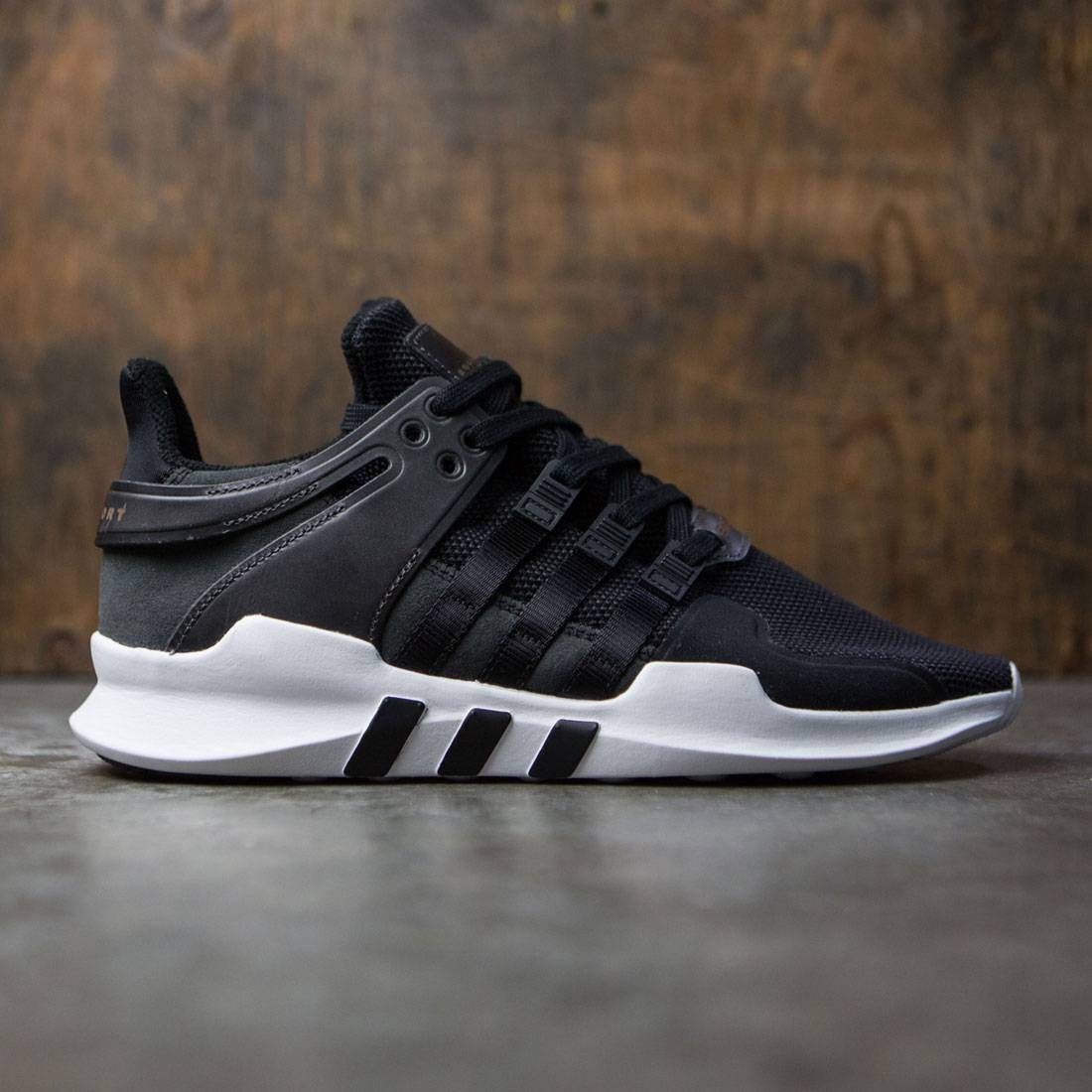 the latest a05ce 1de19 Adidas Men EQT Support ADV (black / core black / footwear white)