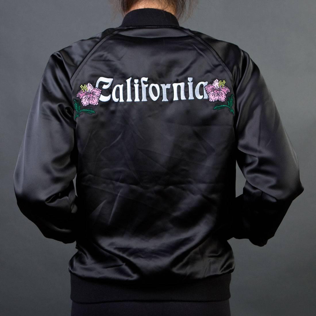 Stussy Women California Satin Jacket (black)