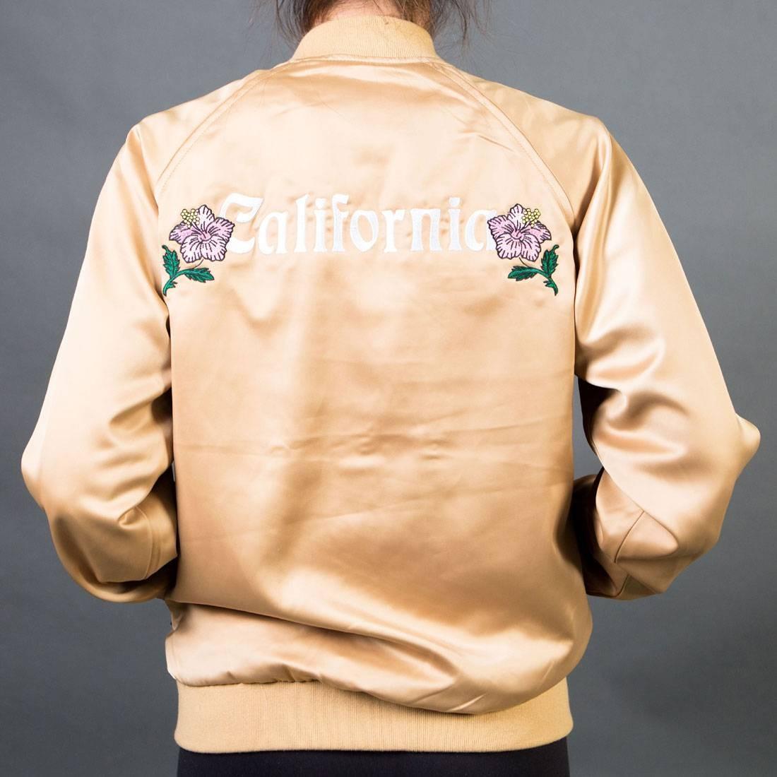 Stussy Women California Satin Jacket (gold)
