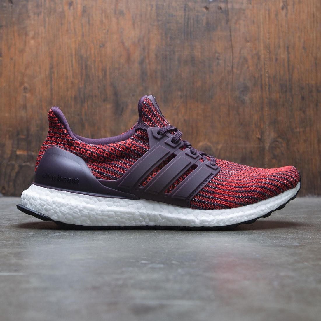 e254dcb11 Adidas Men UltraBOOST red noble red core black