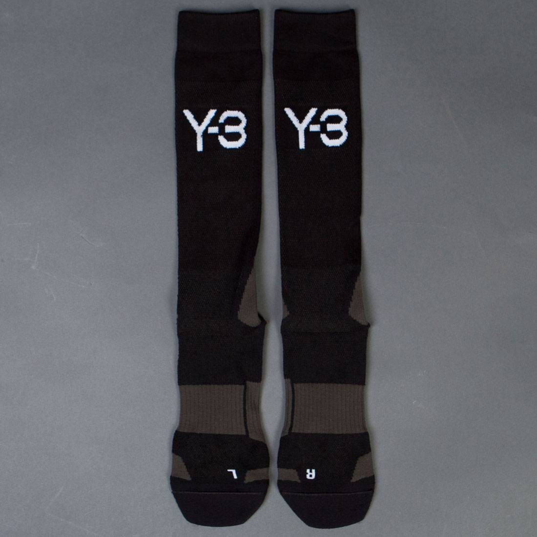 Adidas Y-3 Men TR Socks (olive / black olive)