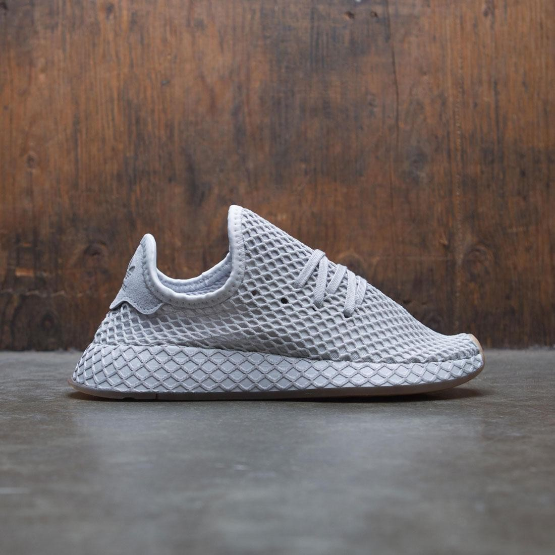 54bf54ebabb4a Adidas Big Kids Deerupt Runner J gray solid grey gum