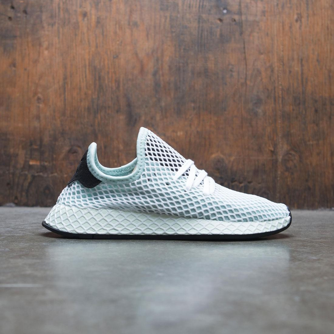 lowest price 287e2 f06e8 Adidas Women Deerupt Runner W green ash green core black