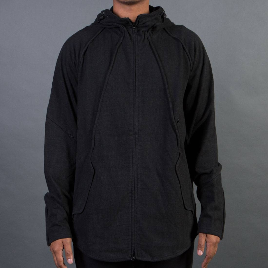Adidas Y-3 Men Vintage Hood Jacket (black / blackened)