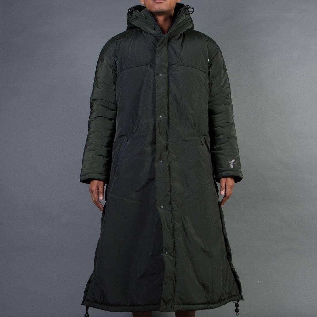 Adidas Y-3 Men Nylon PA Coat (olive / dark black olive)