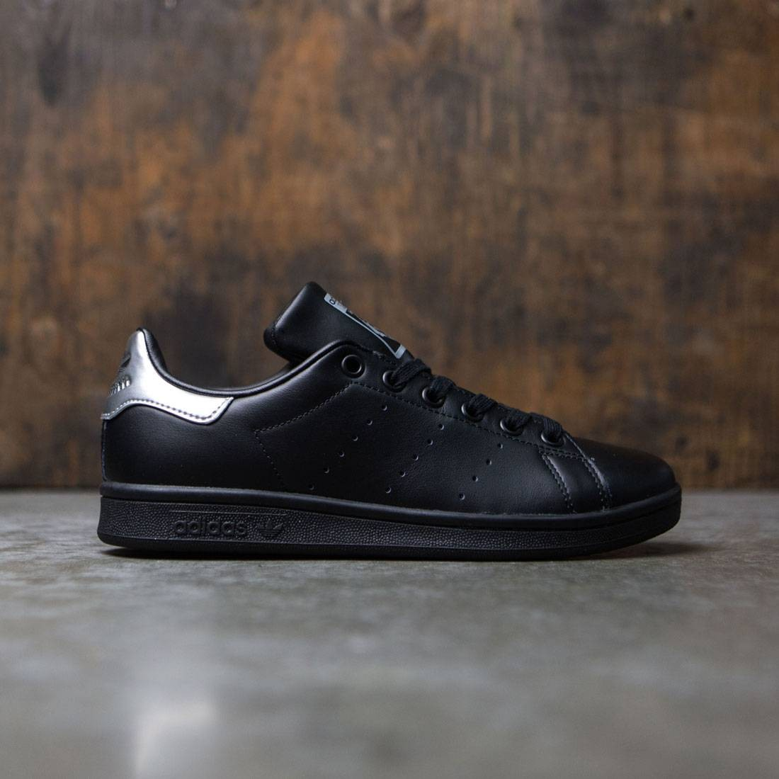 22f28428957 Adidas Women Stan Smith black core black supcol