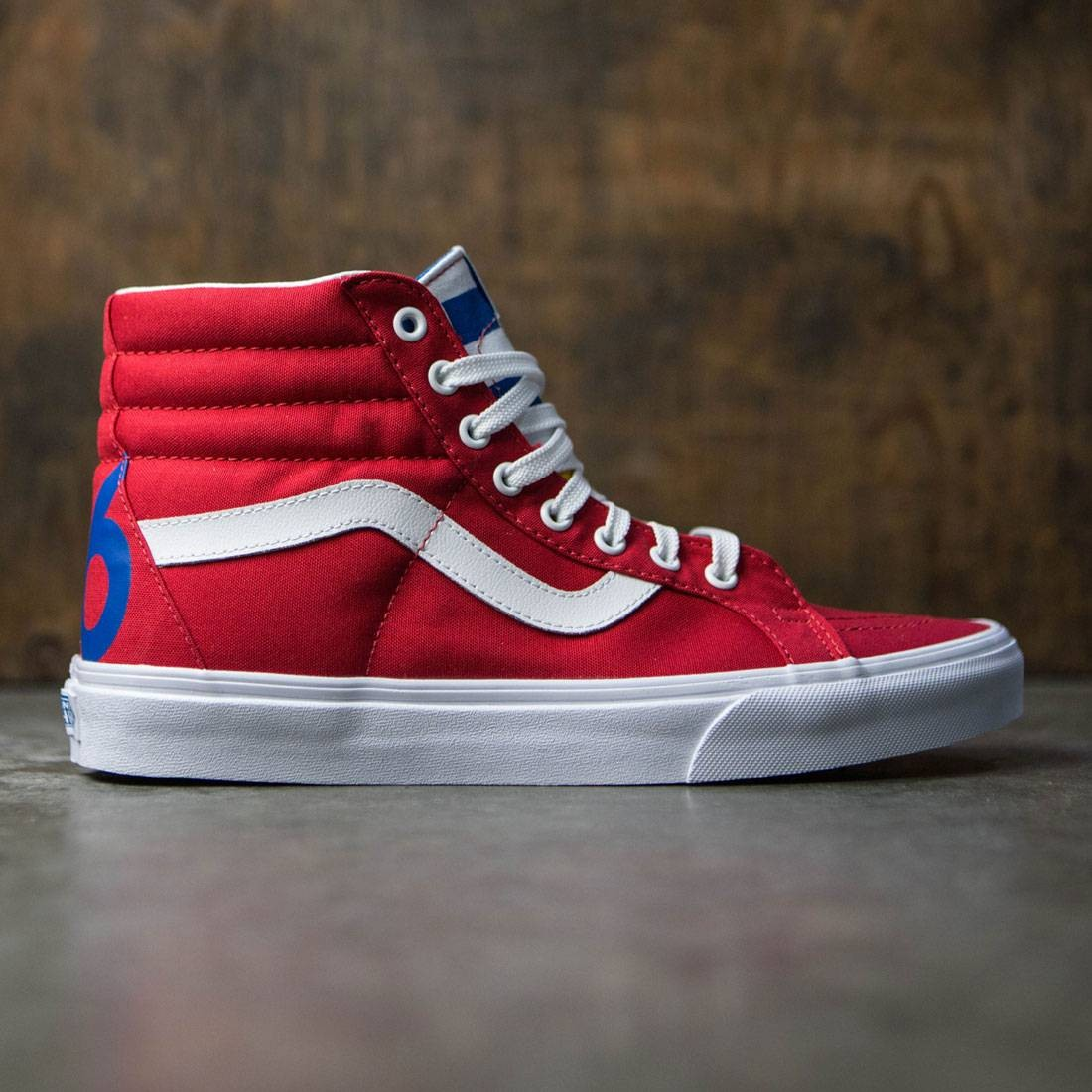 d7d466ecdc8 Vans Men SK8-Hi Reissue - 1966 red blue white