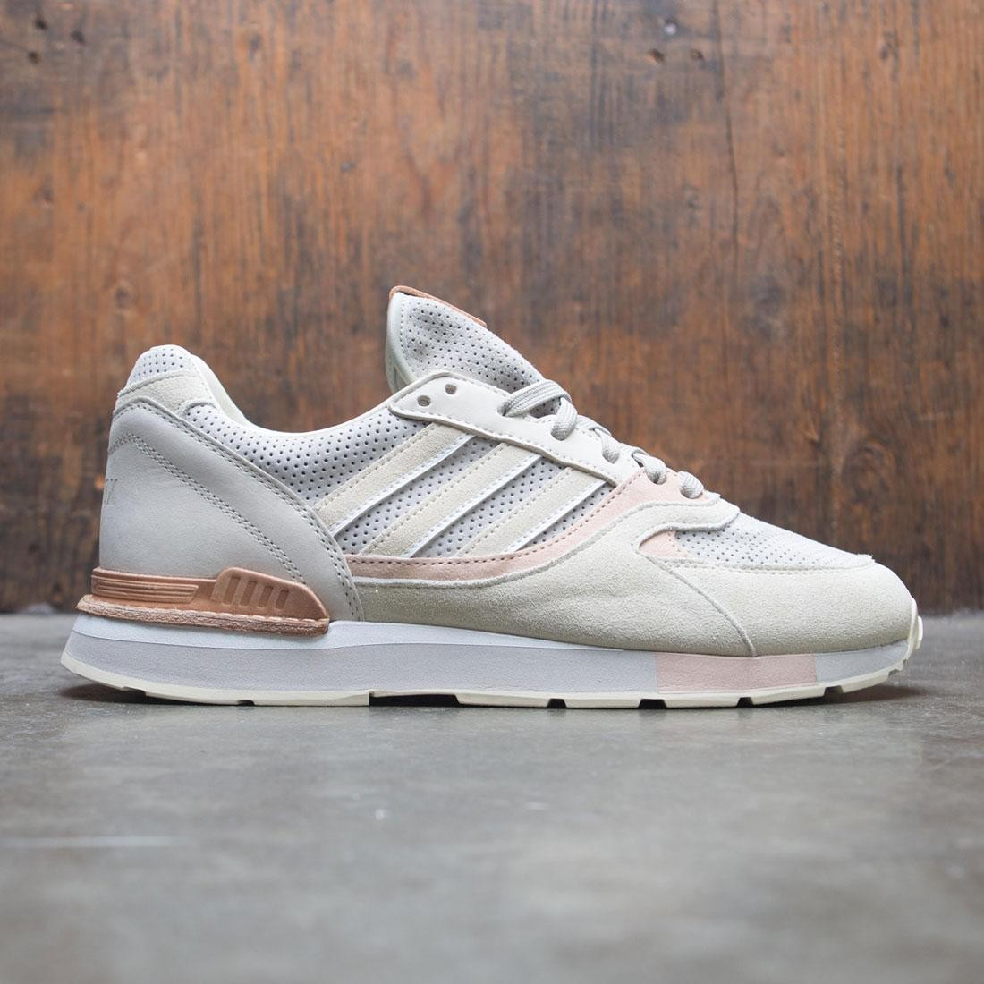 discount nice shoes speical offer Adidas Consortium x Solebox Men Quesence (gray / cream white / sesame)