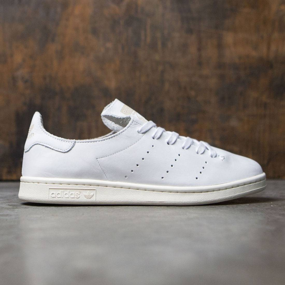 Adidas Men Stan Smith Leather Sock (white footwear white clear granite)