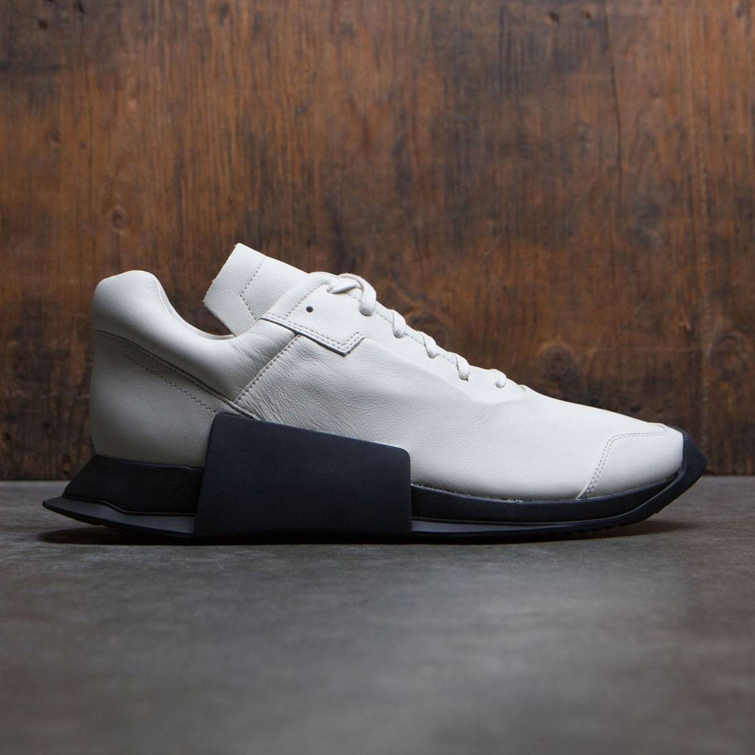 31555ae34ad Adidas x Rick Owens Men Level Runner Low II white ro milk ro black