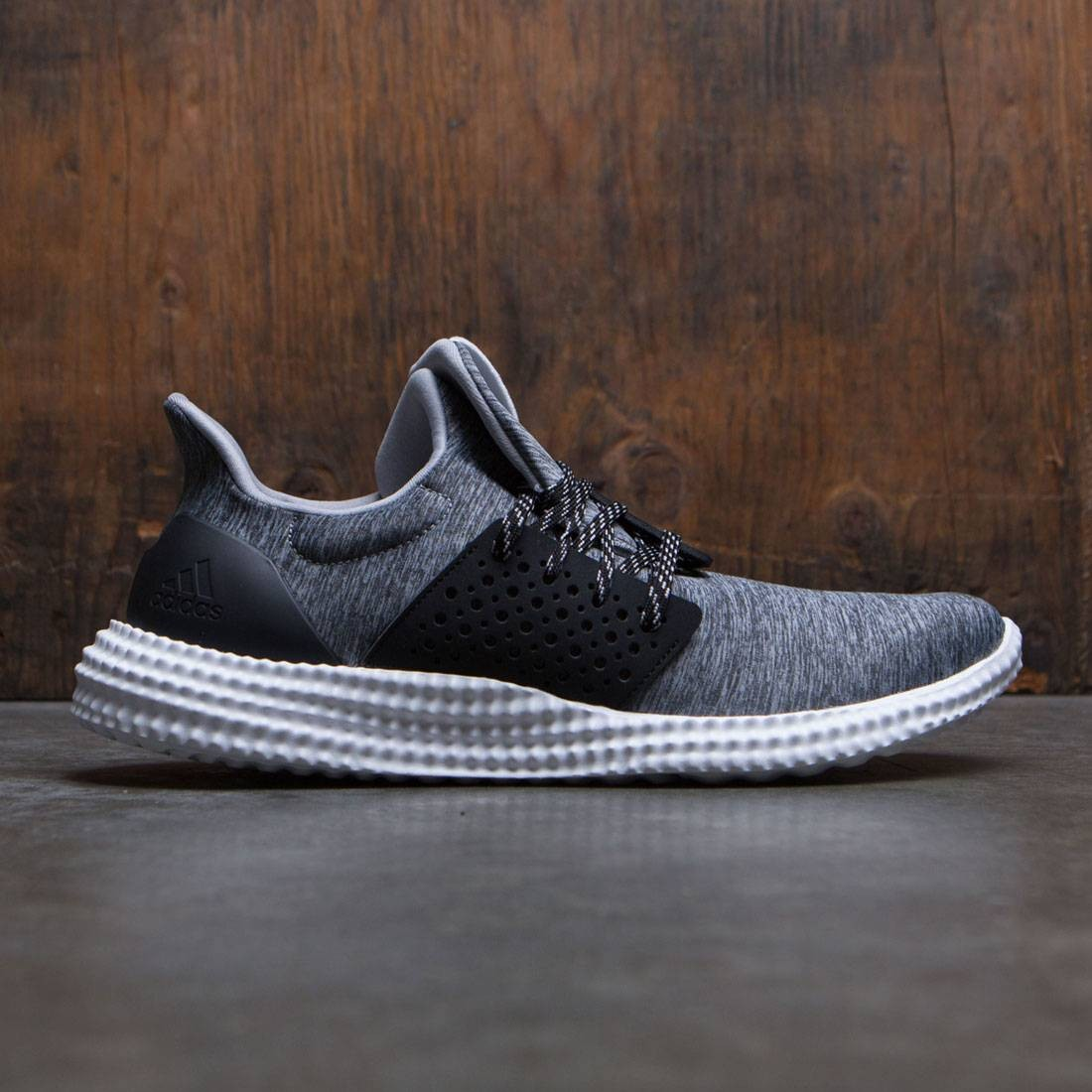 61199e2ac9f02c Adidas Men Athletics 24 7 Trainer gray dark grey heather crystal white core  black