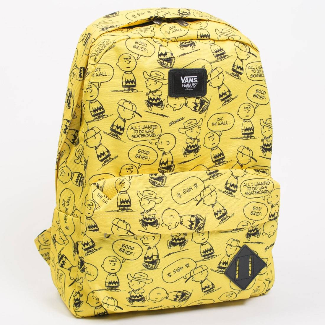 5e01f6df4f Vans x Snoopy Peanuts Old Skool II Backpack yellow black