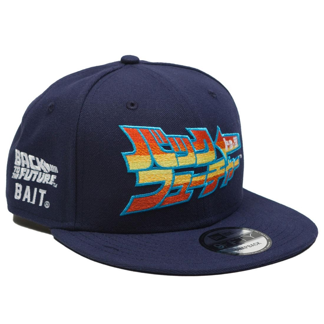 BAIT x Back To The Future x New Era Japanese Logo Cap (blue)