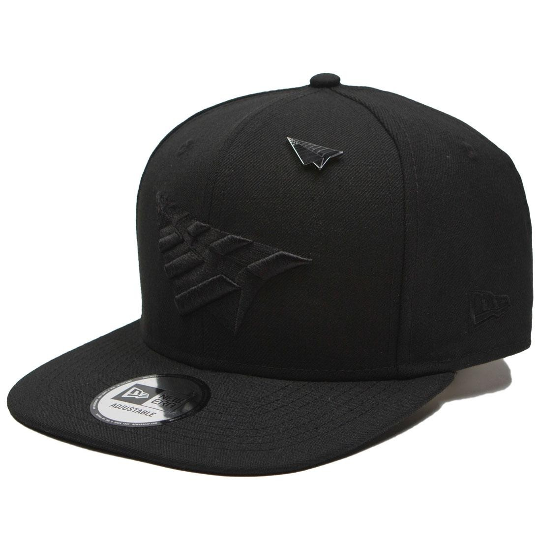 Roc Nation The Crown Snapback Cap With Pin - Blackout black black 2235559854d