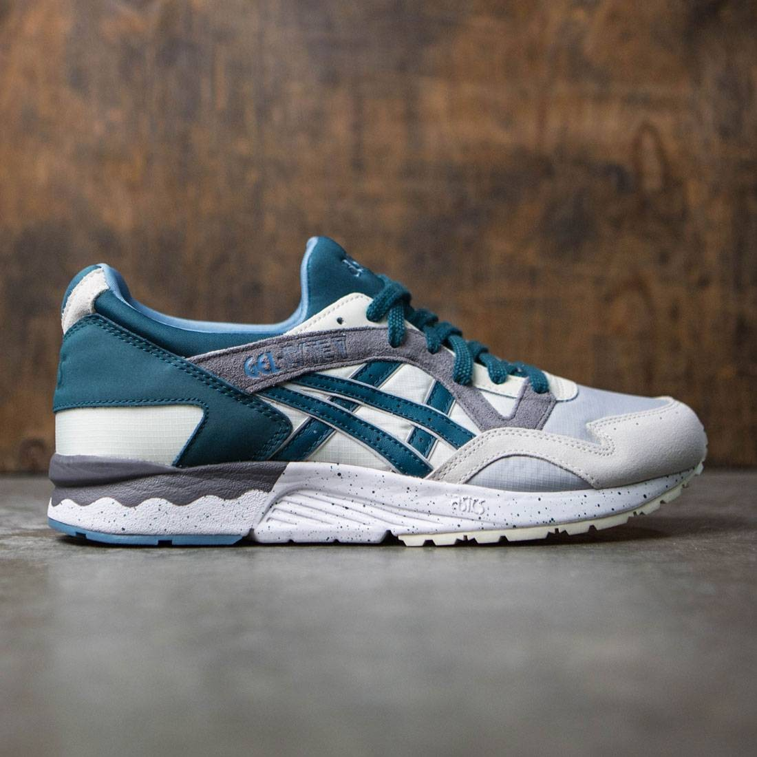Asics Tiger Men Gel-Lyte V white cream deep teal 07e04ac9746d