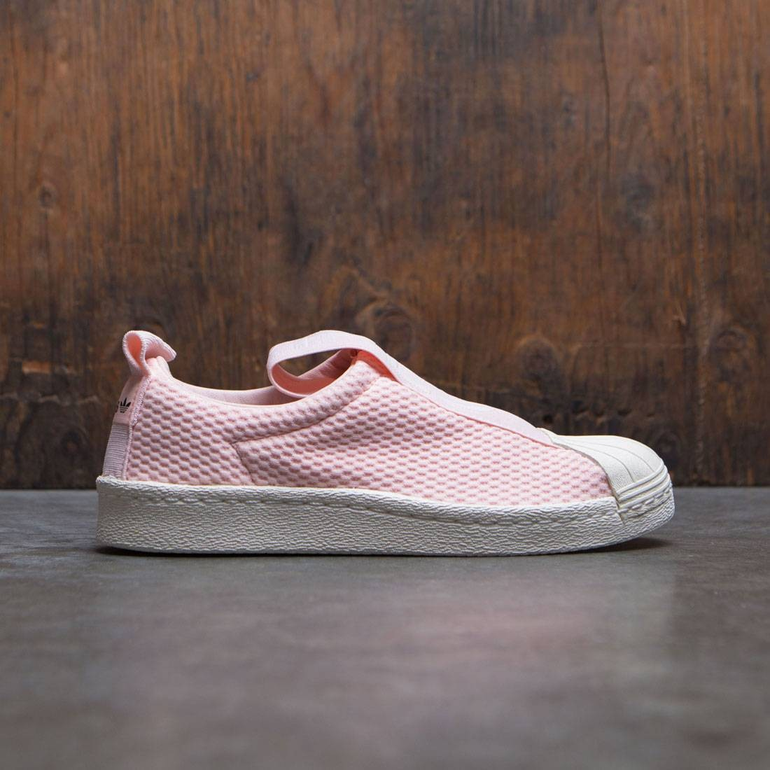 adidas superstar pink off white