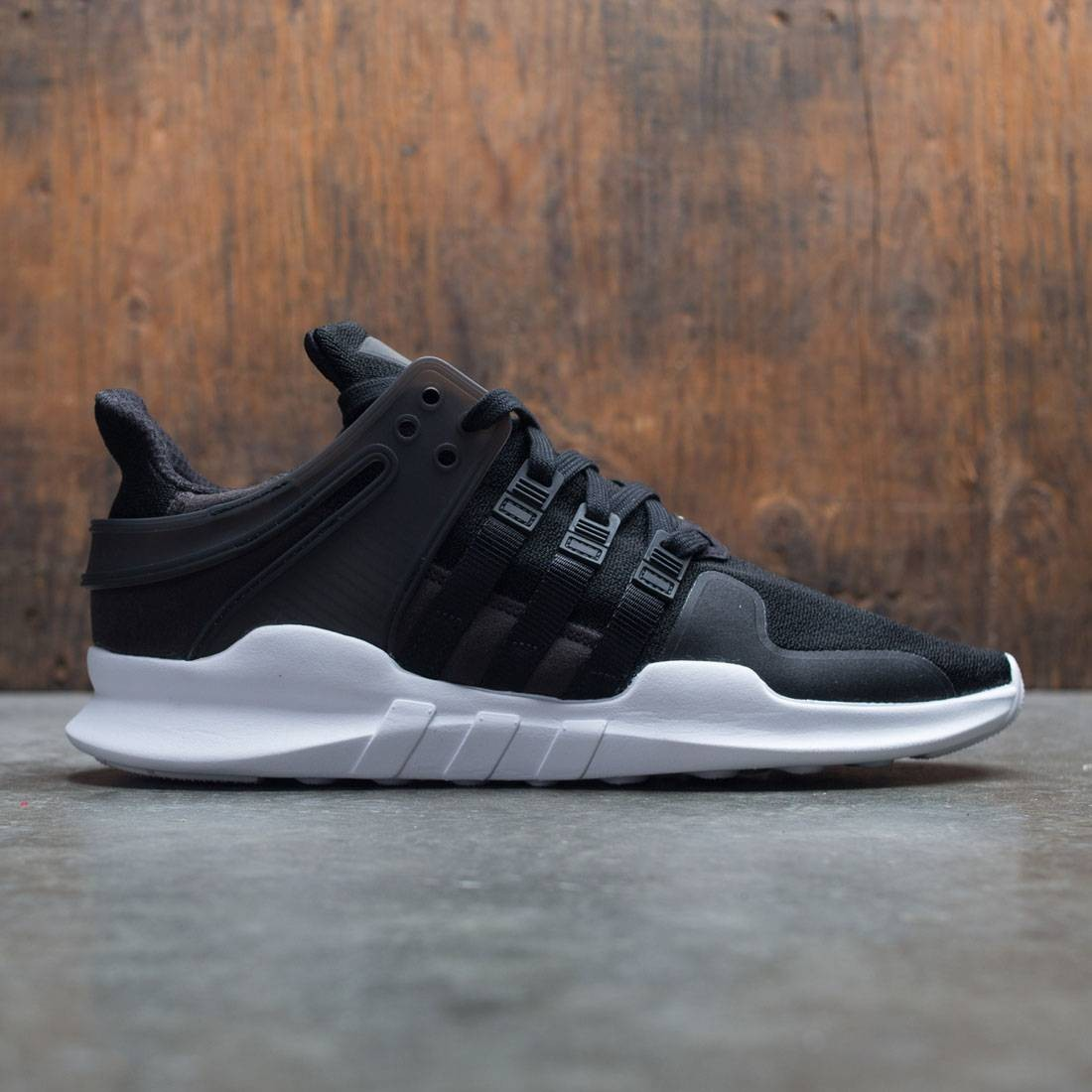 the latest ad1d0 e1f41 Adidas Men EQT Support ADV (black / core black / footwear white)