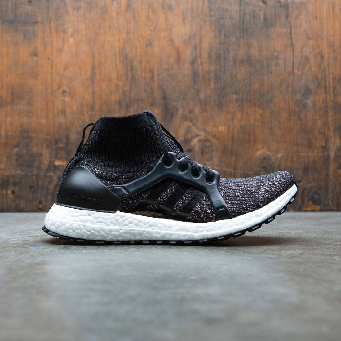 f8f012395 Adidas Women UltraBOOST X All Terrain LTD black core black tech rust  metallic