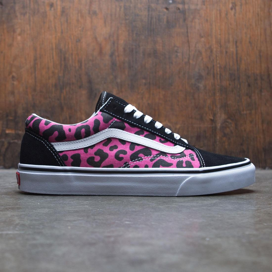 510080ac1d21 Vans Men Old Skool - Leopard pink