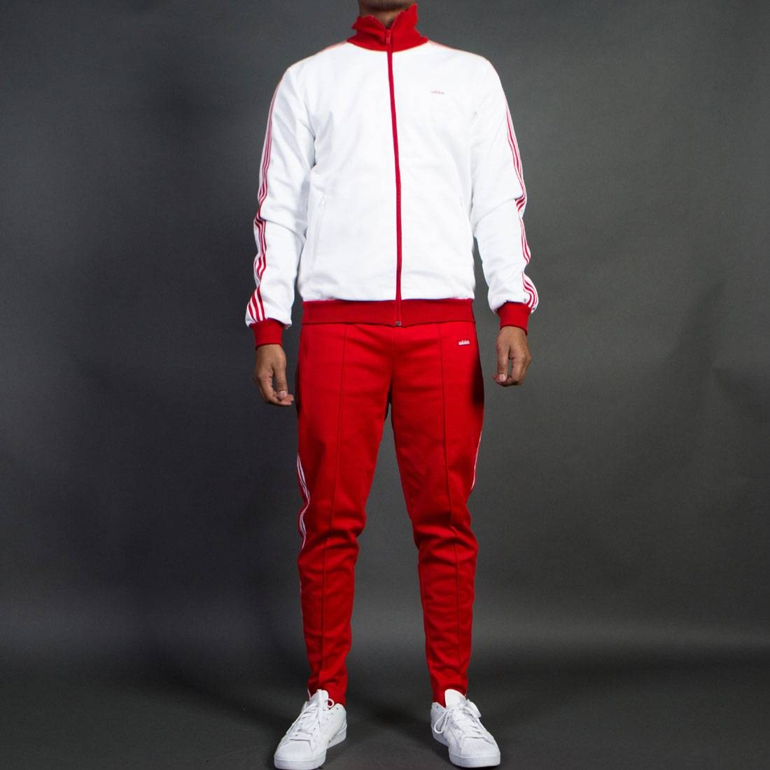 587bc60c79d Adidas Men The Bechenbauer Tracksuit - Made in Germany white