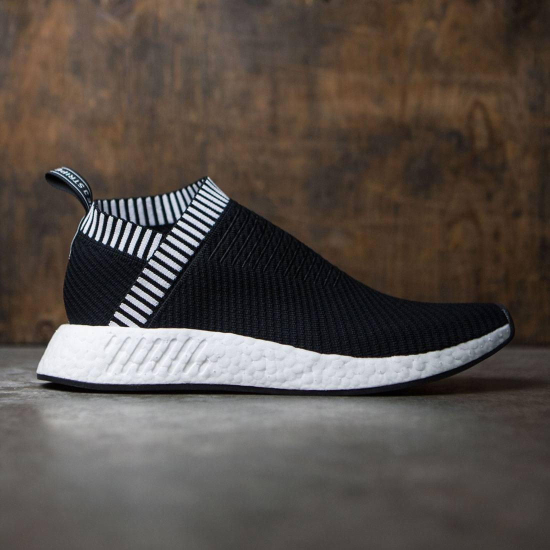 bf6112184b3 Adidas Men NMD CS2 Primeknit black core black shock pink