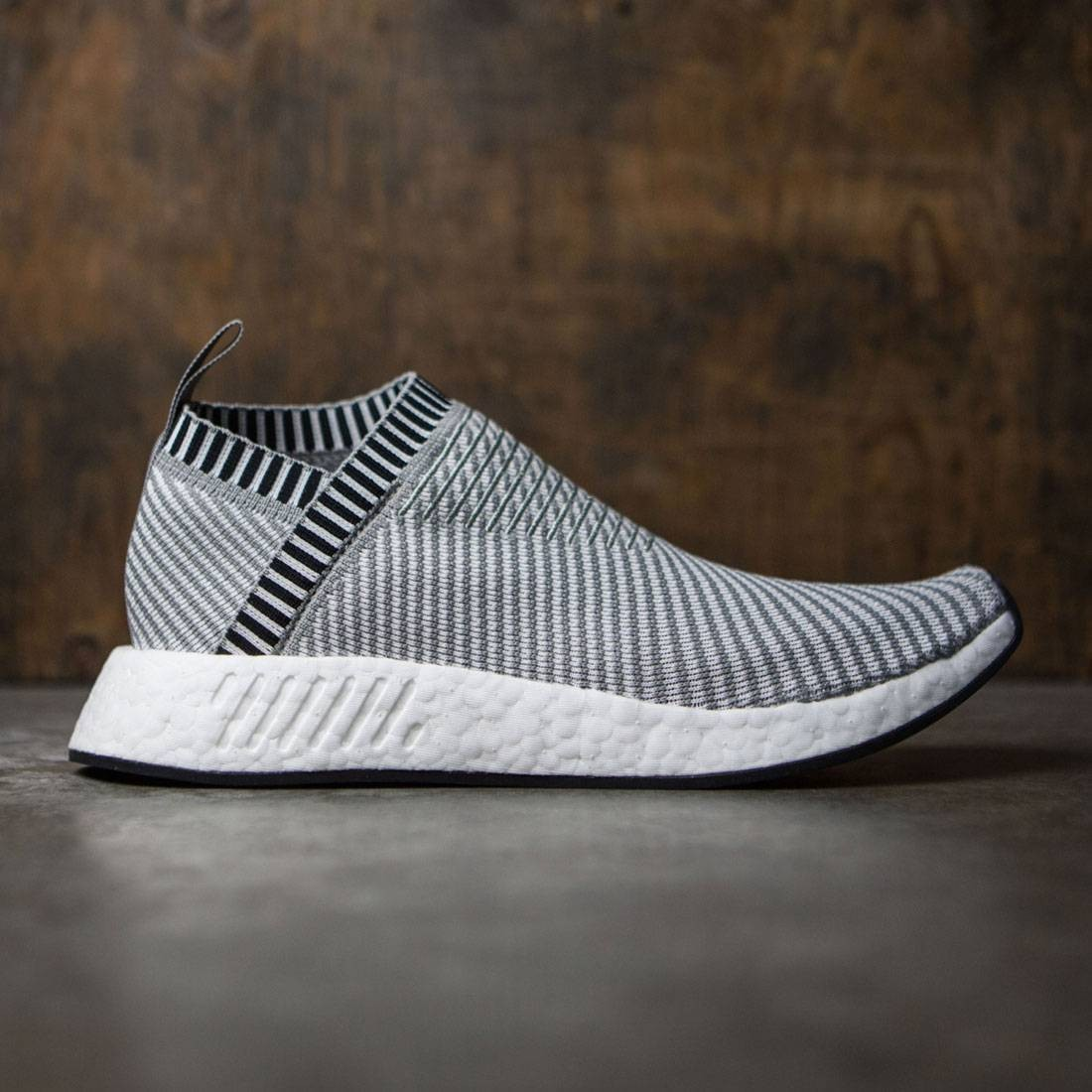 huge discount a816b 8c9a2 Adidas Men NMD CS2 Primeknit gray sold grey footwear white shock pink