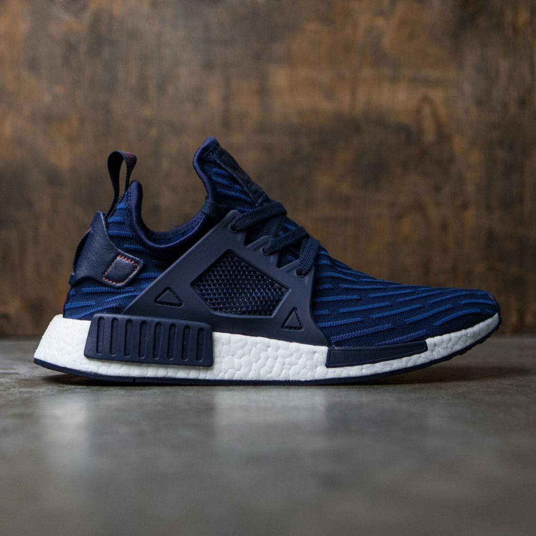 Adidas Men NMD XR1 Primeknit (navy collegiate navy core red)