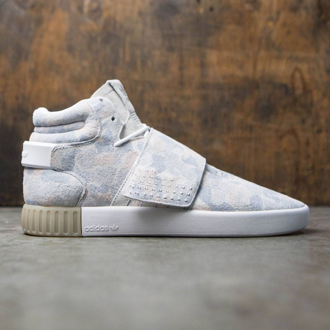 brand new cf4ab 2bed0 Adidas Men Tubular Invader Strap (white / footwear white / light solid grey)