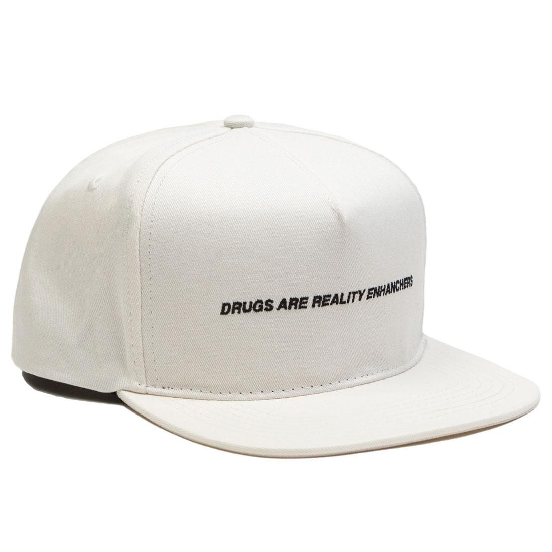 10 Deep Drugs Cap (white)