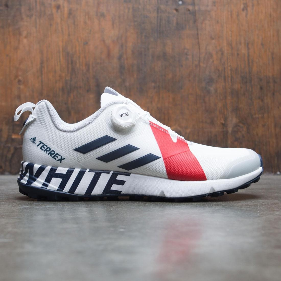 3835af675f99 Adidas Men White Mountaineering Terrex Two Boa white collegiate navy red
