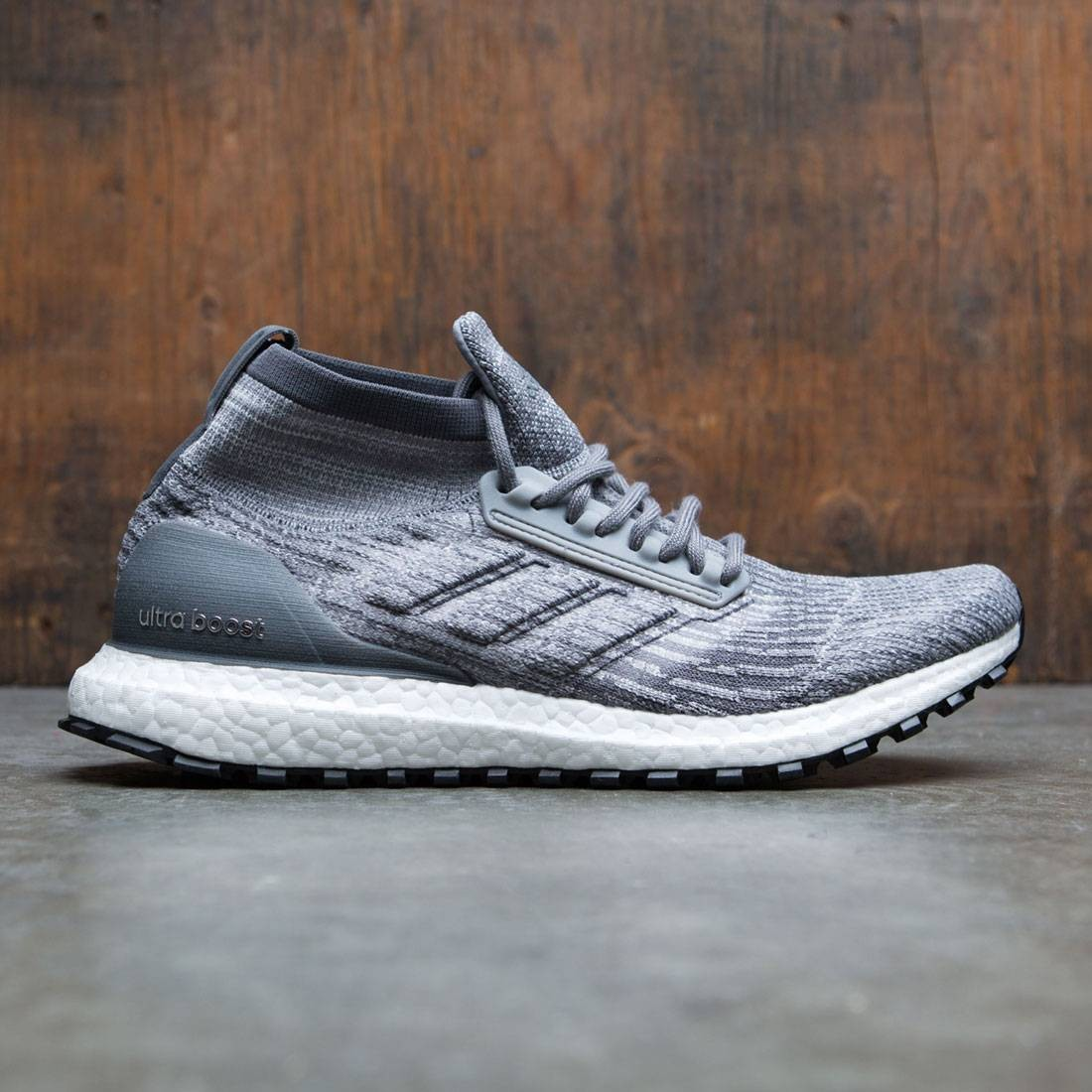 info for 95e7e 8aec8 Adidas Men UltraBOOST All Terrain gray grey three