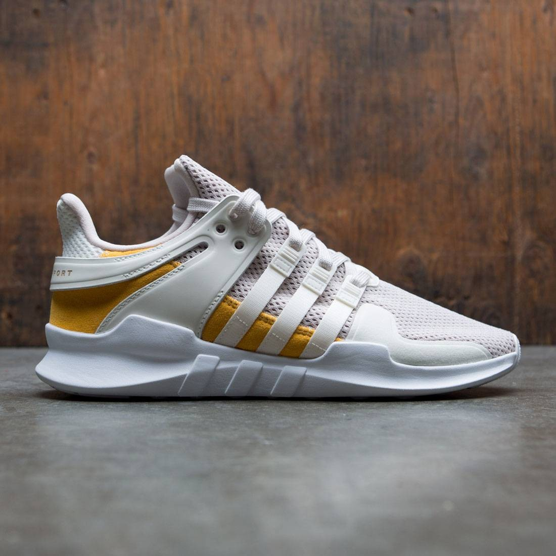 reputable site b7cc2 9f85d Adidas Men Equipment Support ADV white off white clear brown trace yellow
