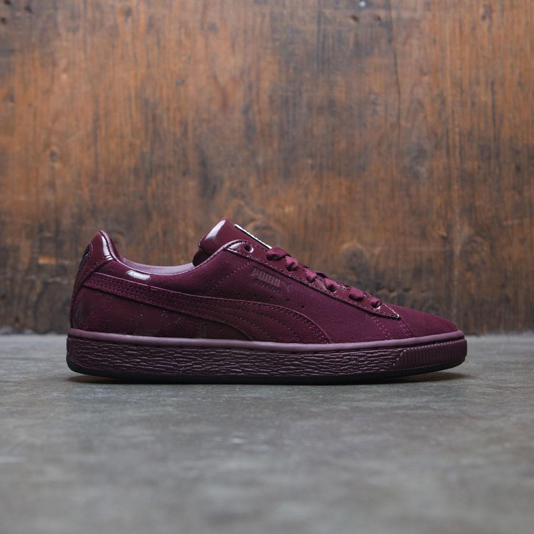 premium selection fa7a5 4745b Puma x MAC Women Suede Classic - MAC THREE (burgundy / port royale)